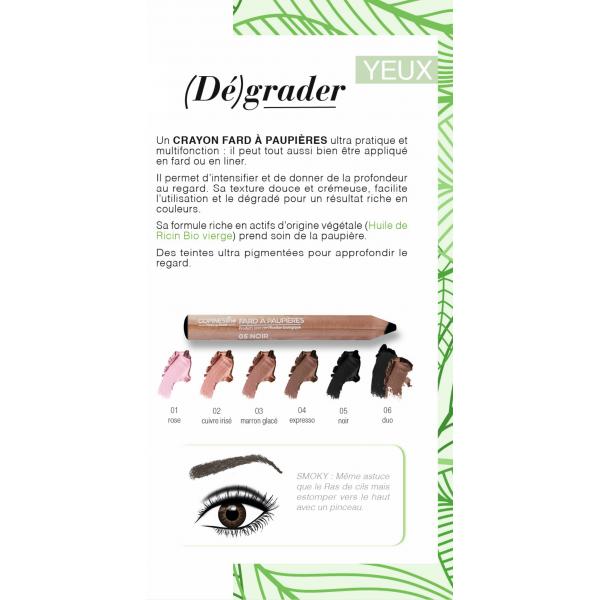 Eyeshadows pencil BIO