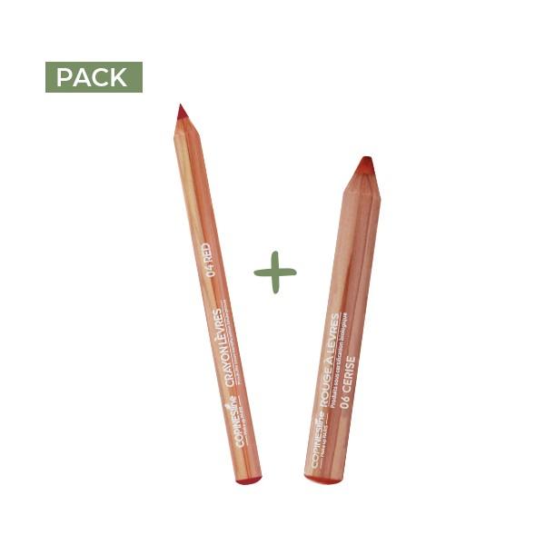 PACK LIP PENCIL + LIPSTICK