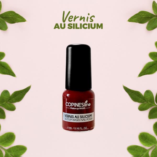 Vernis Silicium 06 Bordeaux