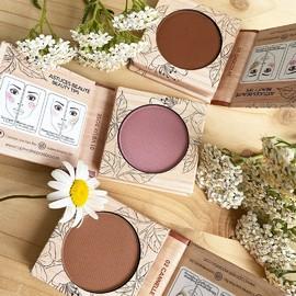 FARDS À JOUES- Texture crémeuse - Propriétés hydratantes - 3 teintes#beauténaturelle #beauté #organic #copineslineparisbio #nature #makeup #bio #maquillagebio