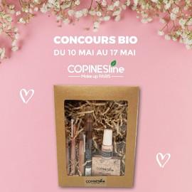 CONCOURS BIO TERMINÉ 🌸🍃 ⚠️5 Gagnantes 😍Tentez de gagnez un Lot composé de produit bio (1 crayon contour yeux noir carbone, 1 crayon fard à paupière duo, 1 crayon contour lèvres framboise, 1 crayon rouge à lèvres framboise, 1 blush vieux rose et 1 vernis soin au bambou) 👄👁💅#copineslineparisbio #makeup #maquillage #concours #bio #maquillagebio #cosmebio #naturel #cosmetiquenaturelle #greenbeauty #cleanbeauty #concoursinsta #concoursinstagram